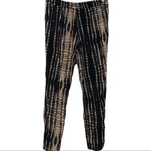 Summer light loose fitting reptile  print pants S